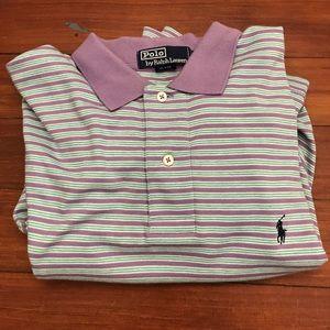 Polo by Ralph Lauren men's polo shirt large